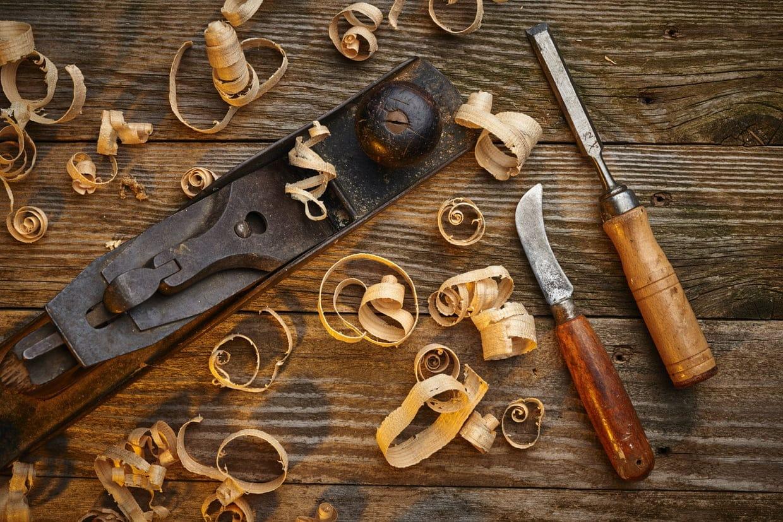 Les outils de menuiserie